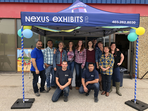 nexus exhibits calgary
